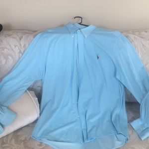 Authentic Long Sleeve Polo
